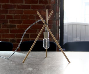 Tres Lamp