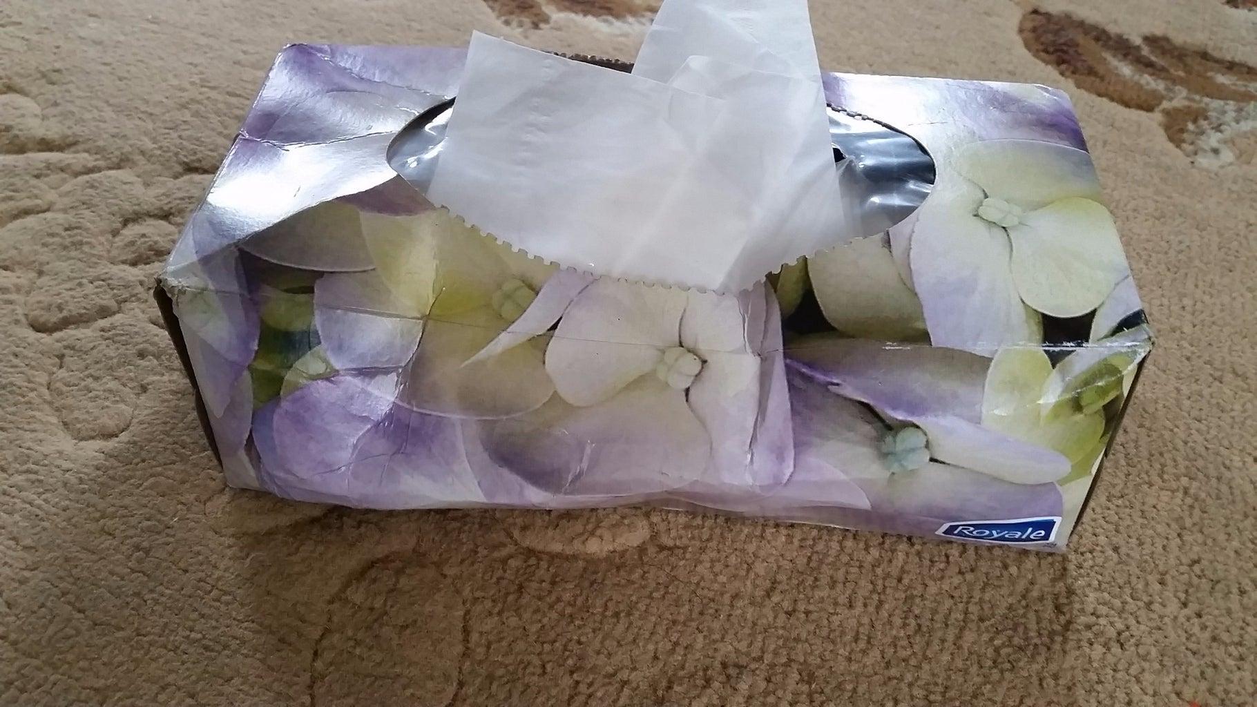 Strong Durable Kleenex Box