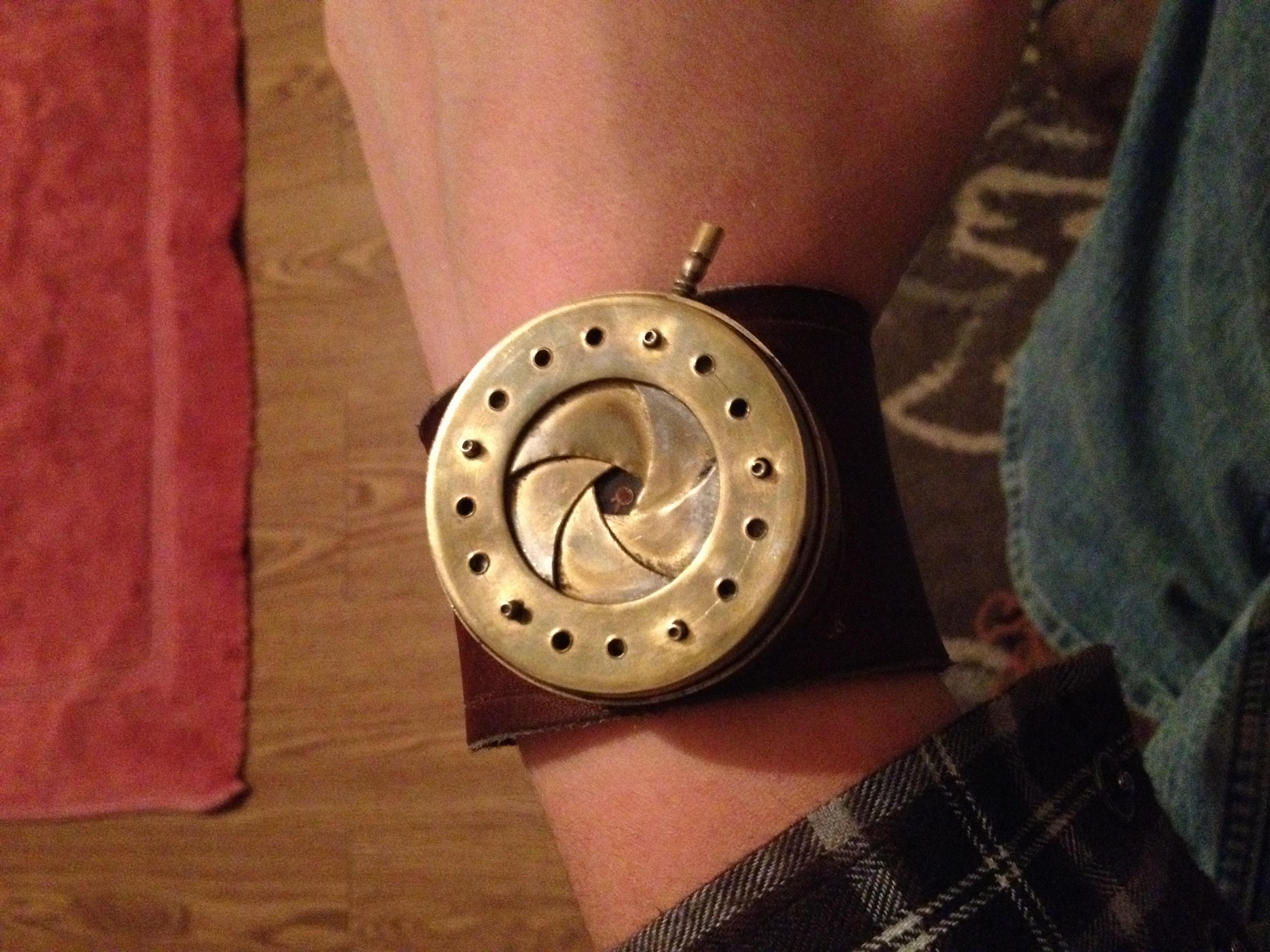 How to make an Iris Diaphram watch