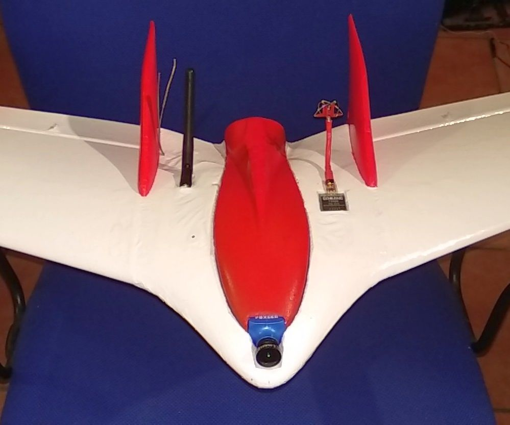 RC Plane: FPV & INAV on a Z-84 Wing