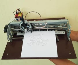 3 AXIS CNC PLOTTER FROM DC MOTORS AND OPTICAL ENCODERS
