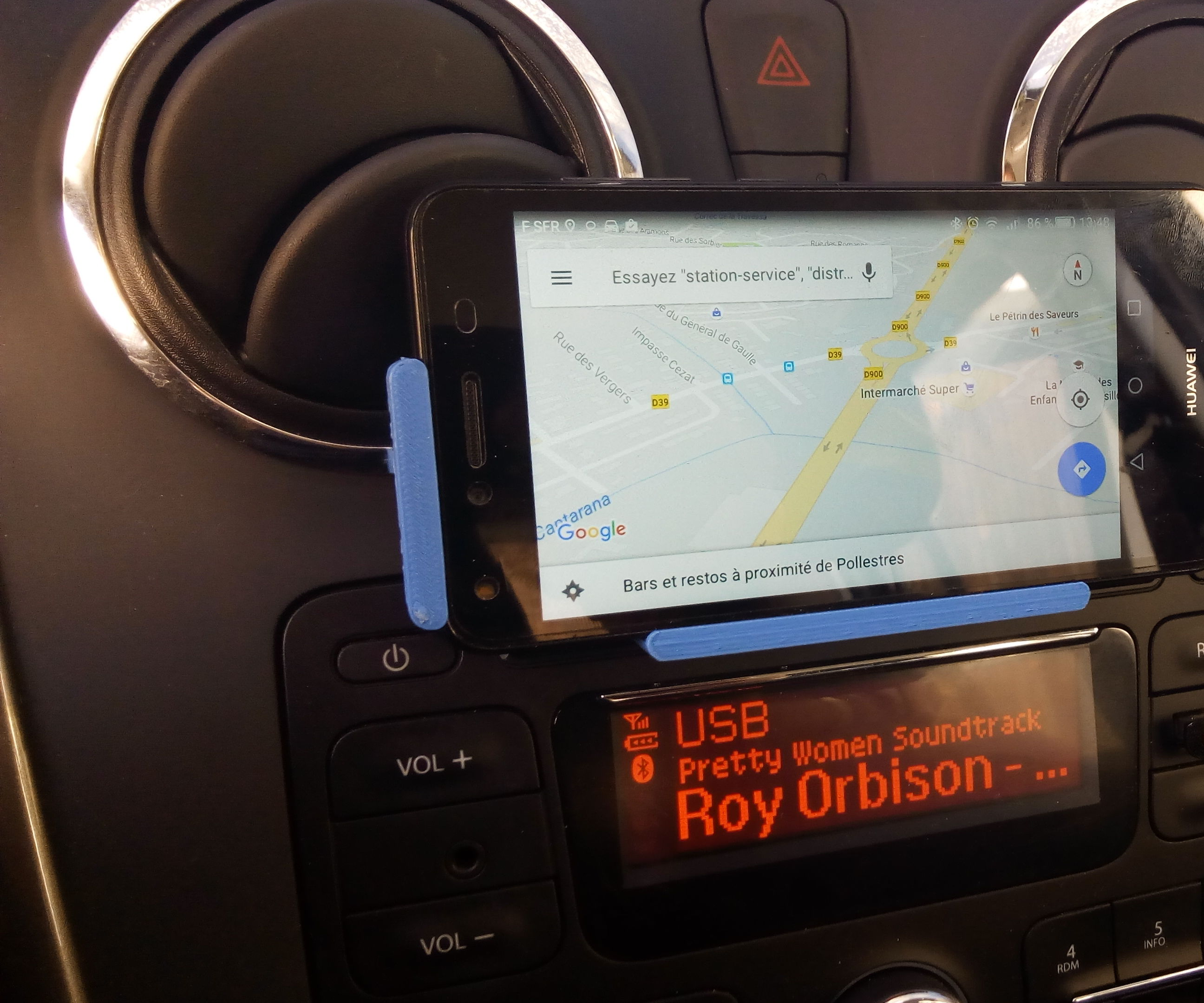 3D printed Phone car mount / support