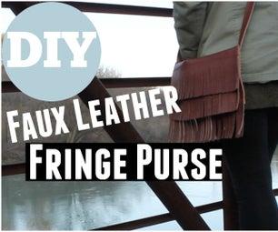 Fringe Leather Purse/Bag