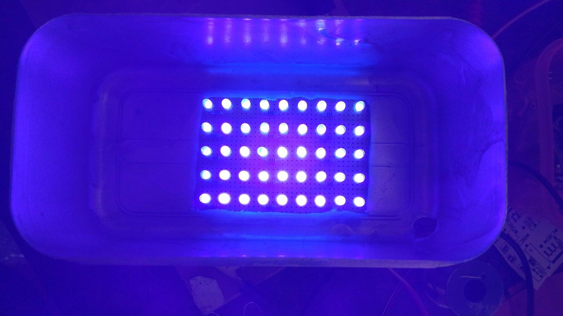 UV Exposure.