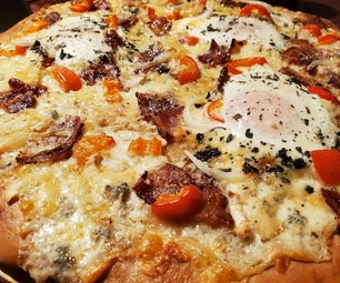 Bacon and Egg Pizza