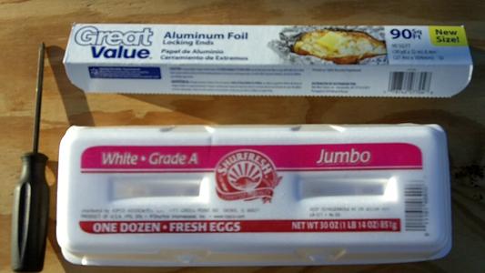 Egg Carton Paint Palette W/ Brush Holders