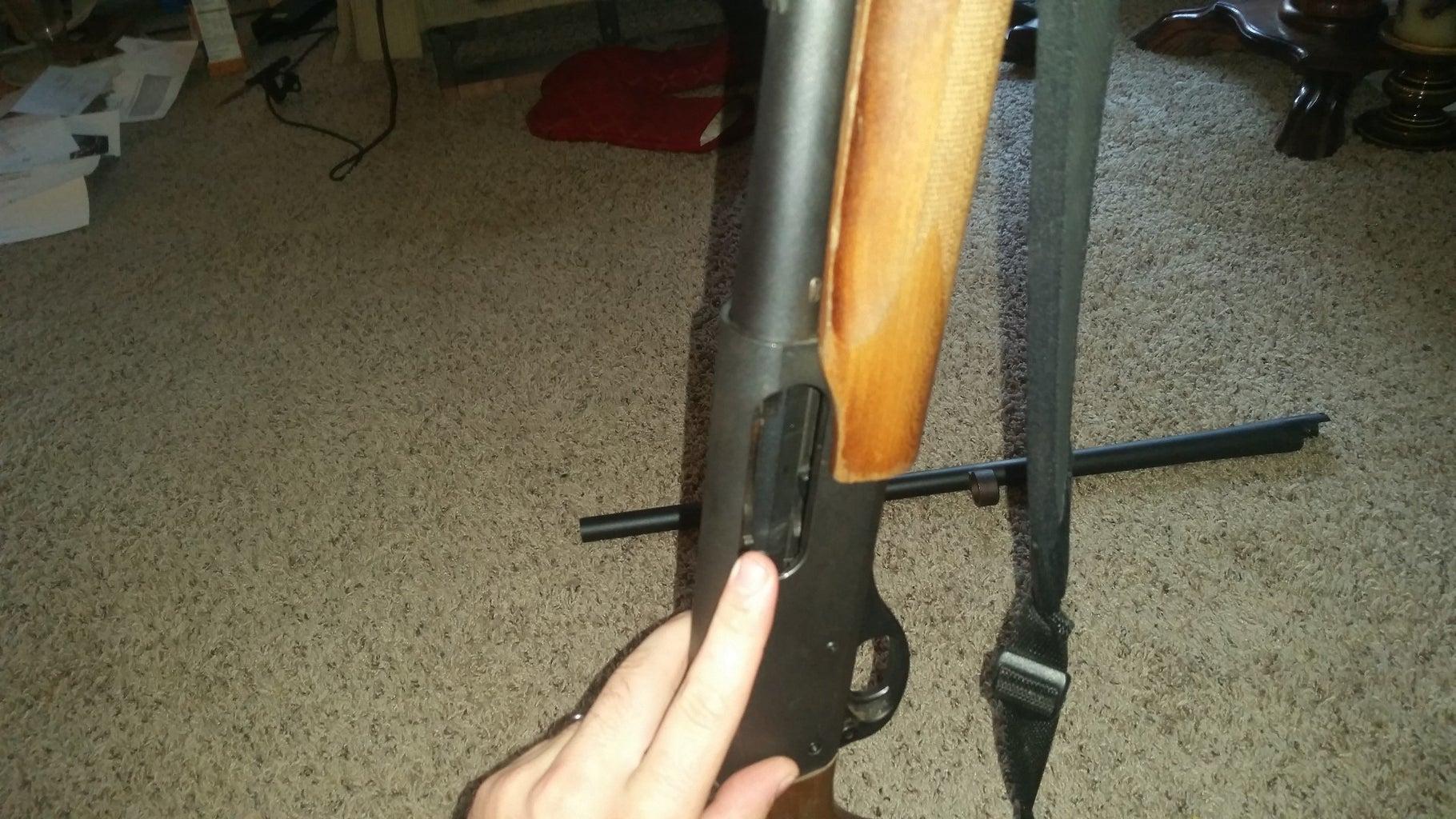 Ensure the Firearm Is Unloaded