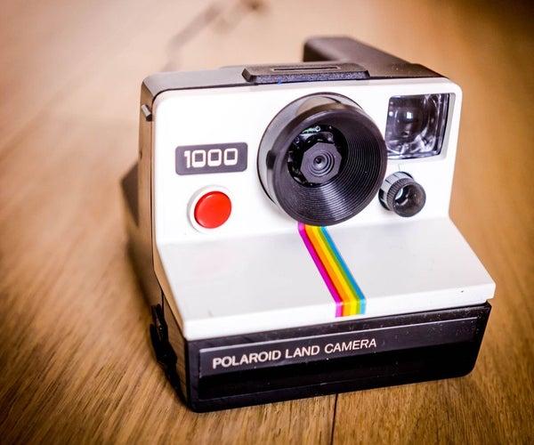 Polaroid Baby Monitor With RPi