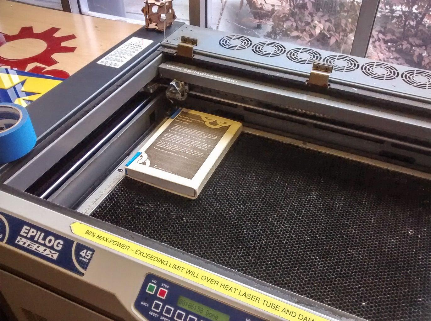 Laser Engrave (Optional)
