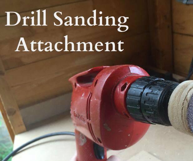 Drill Sanding Attachment (In Under 2 Minutes)