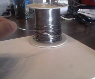 Make a Solder Spool Holder for Your Soldering Workstation