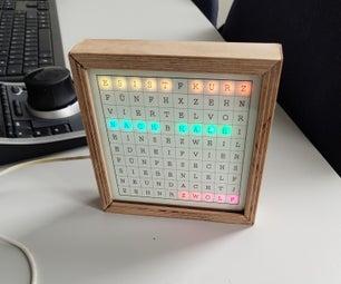 ESP32 Multicolor Word Clock