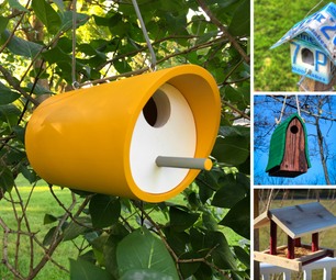 Birdhouses & Bird Feeders