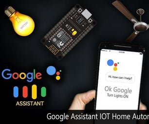 Home Automation Using Google Assistant and Adafruit IO