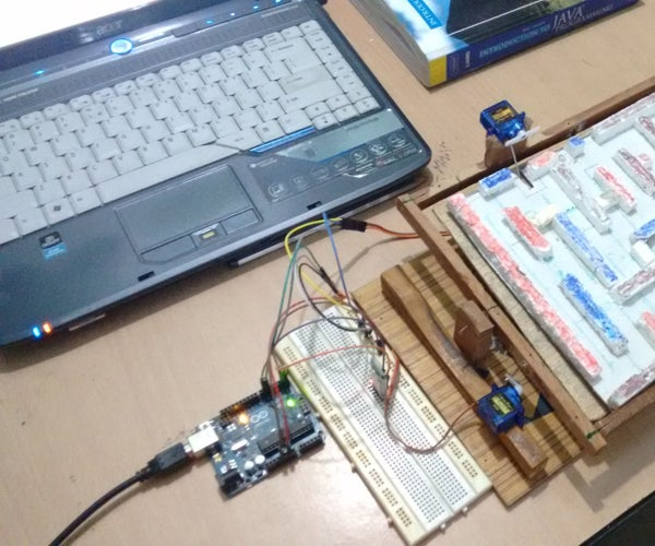 Android + Arduino Labyrith Game
