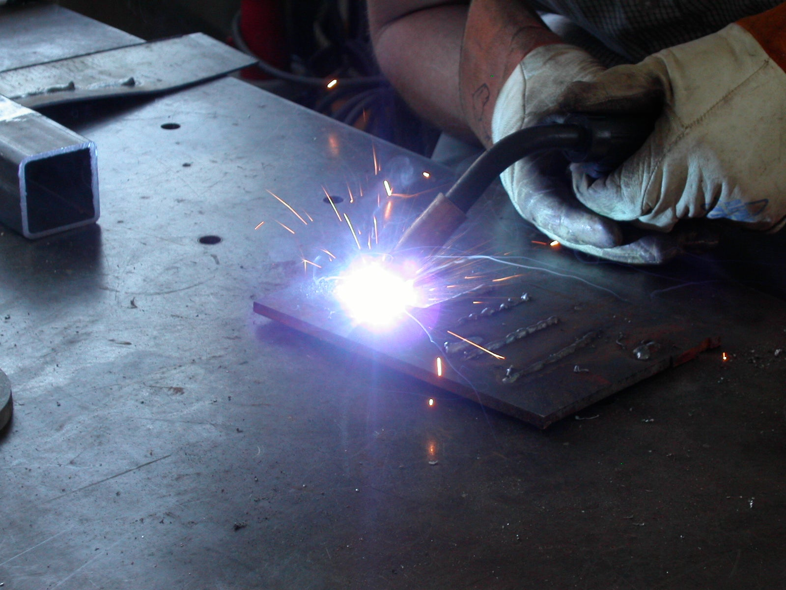 How To Weld Mig Welding 11 Steps With Pictures Instructables
