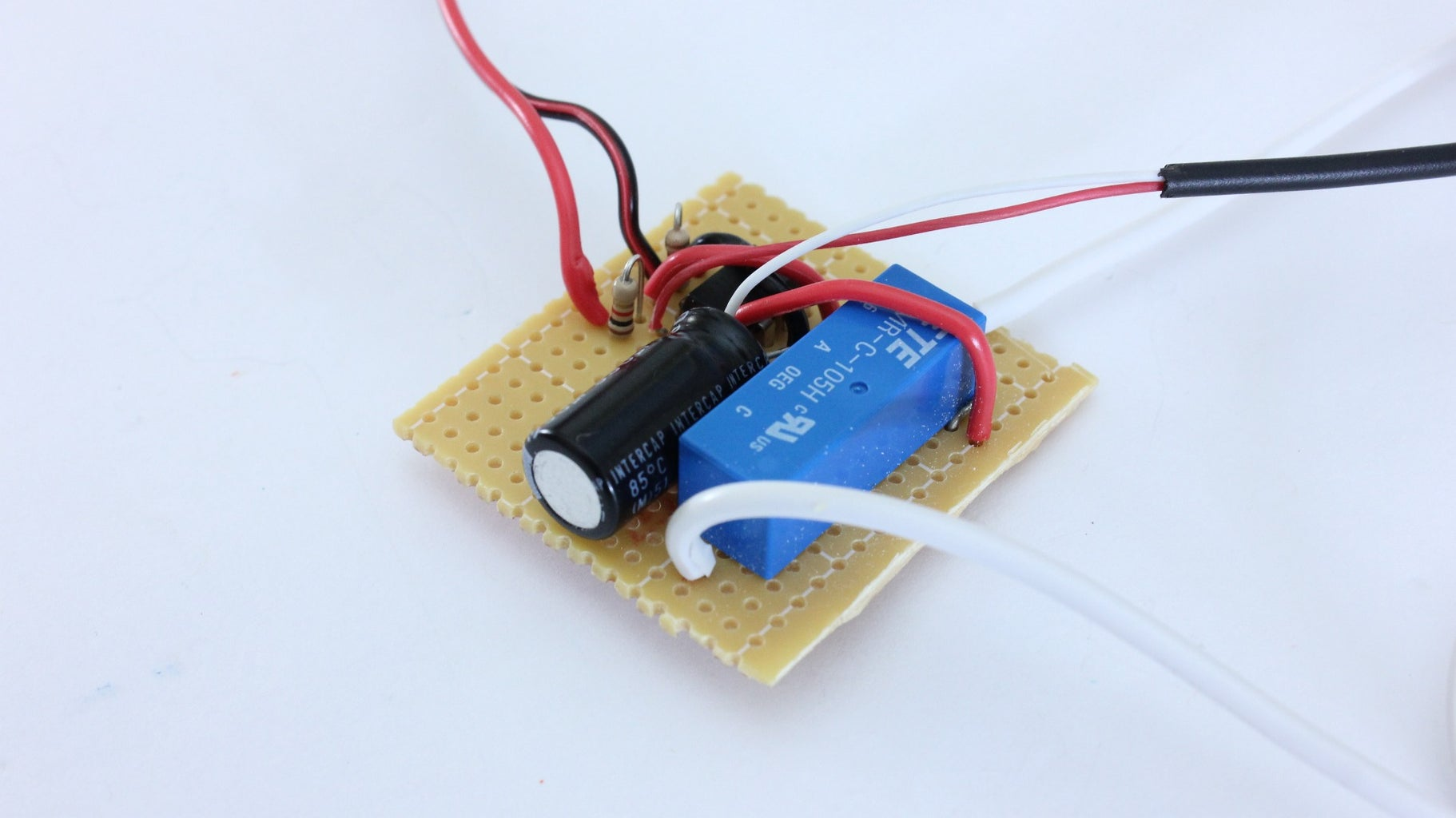 Solder the Circuit Together on a Perf Board