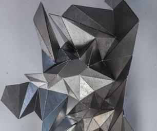 算法折纸:钣金中富有效应形式的探索