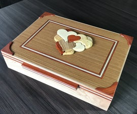 我的心,组合拼图盒