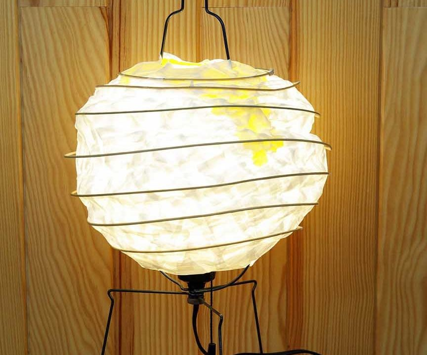 How to make a Japanese lampshade.