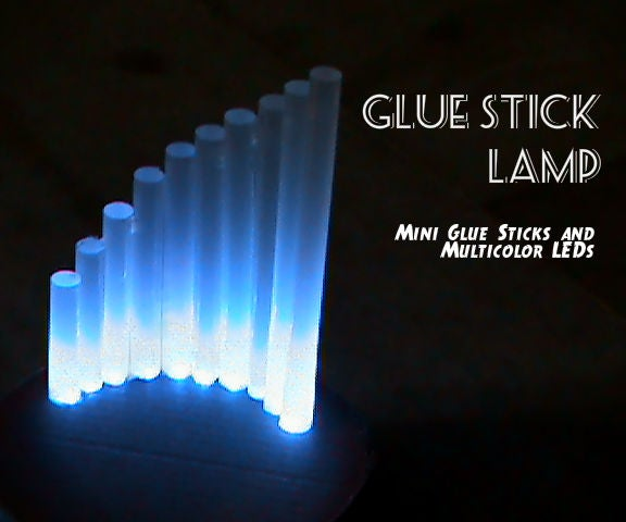 Diffused Glue Stick Lamp