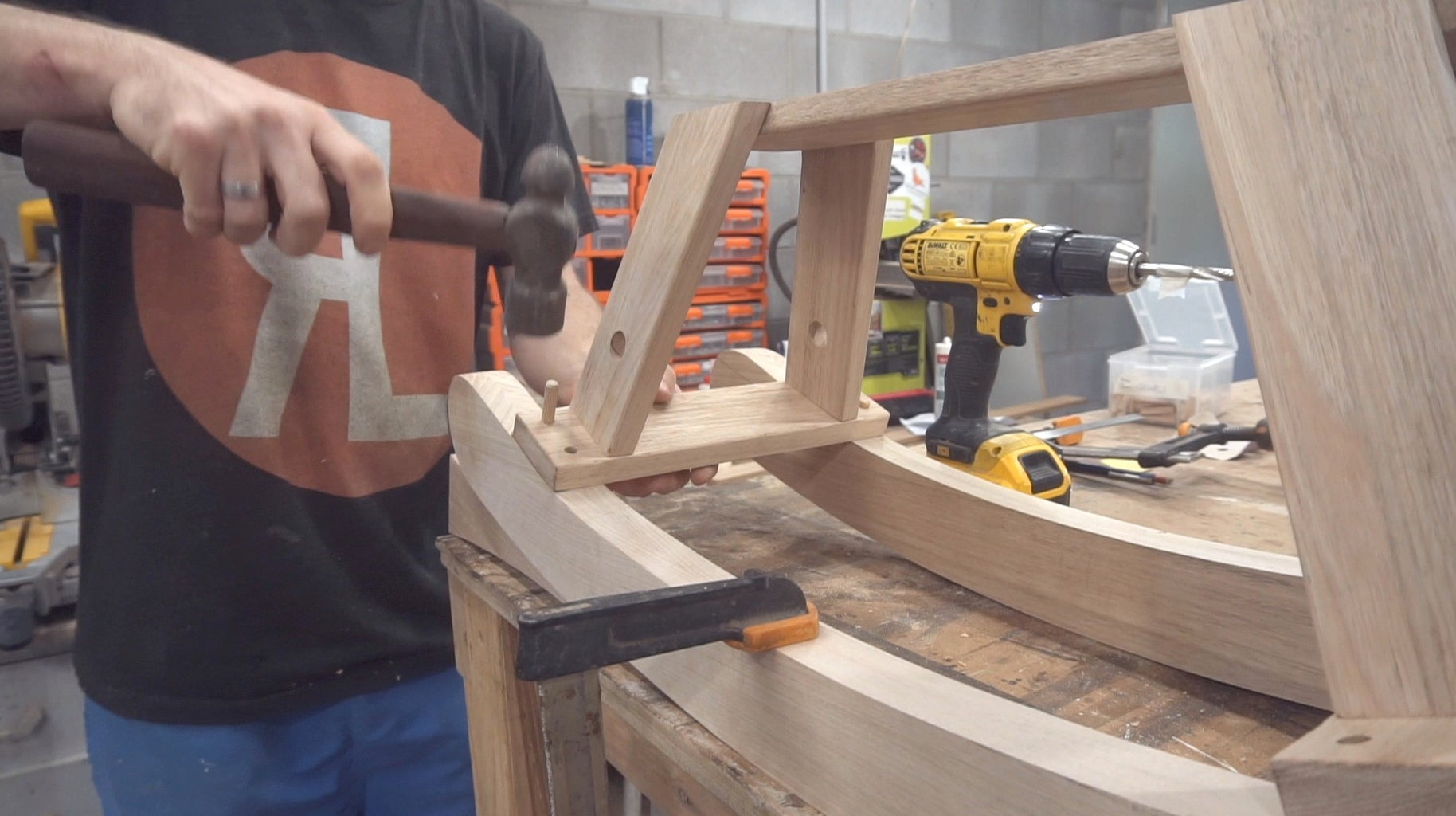 Glue Up and Final Sand
