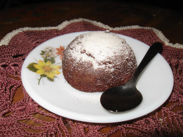 Molten Chocolate Baby cakes