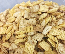 Baked Chex Mix