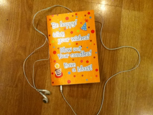 Hack That Musical Greeting Card! (Headphone Edition)