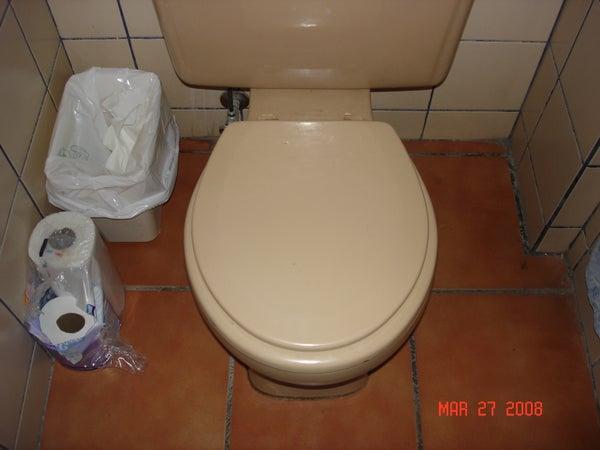 April Fools Toilet Prank