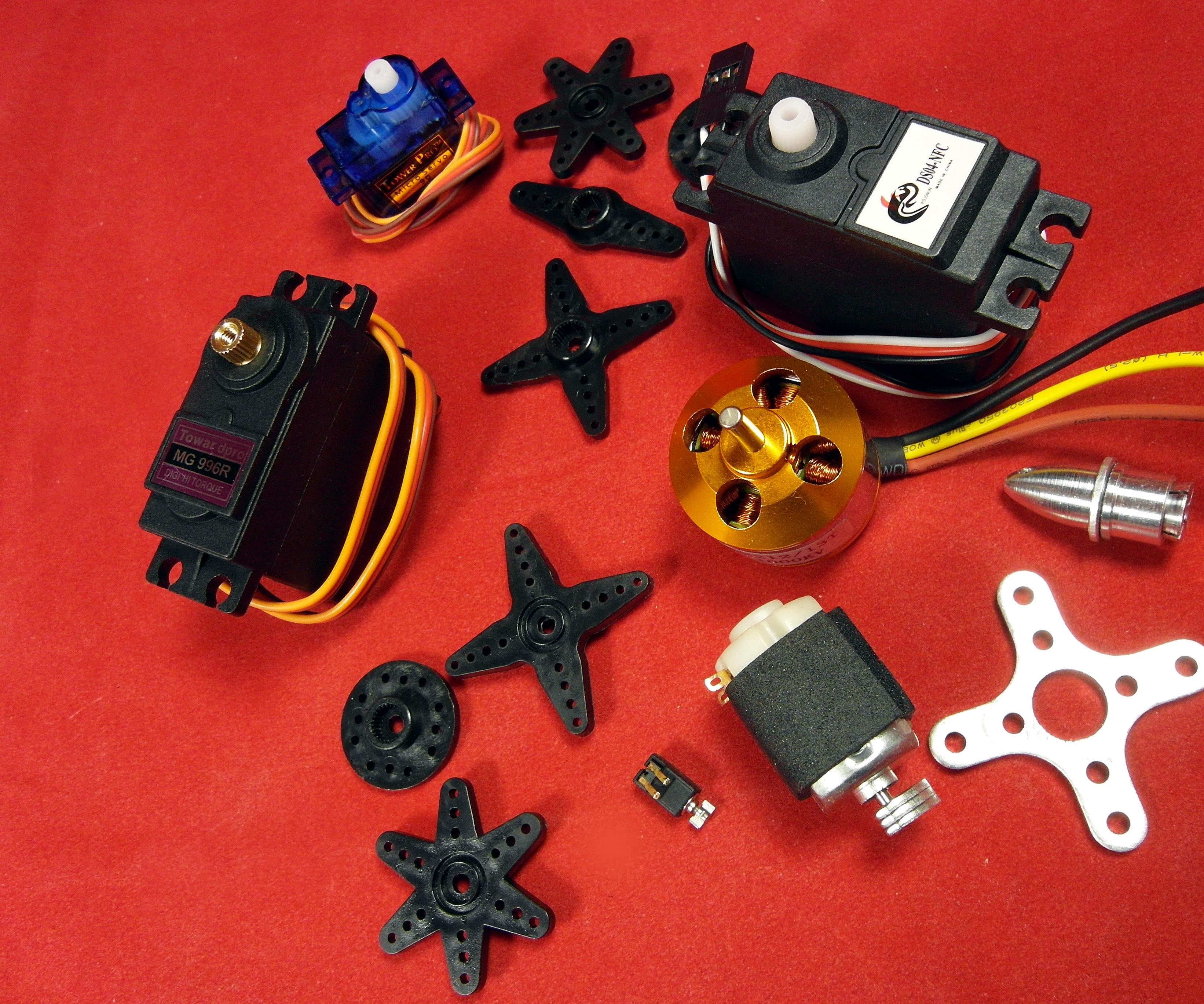 DC Motors Tutorial-2/3: Servo, Brushless and Coreless, Vibration