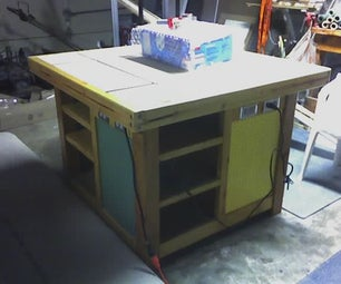 Build a Work Table for Your Work Shop