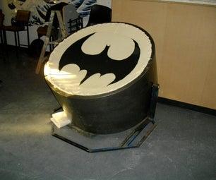 Bat-signal Papasan Chair