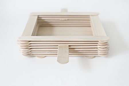Add 5 More Layers of Craft Sticks