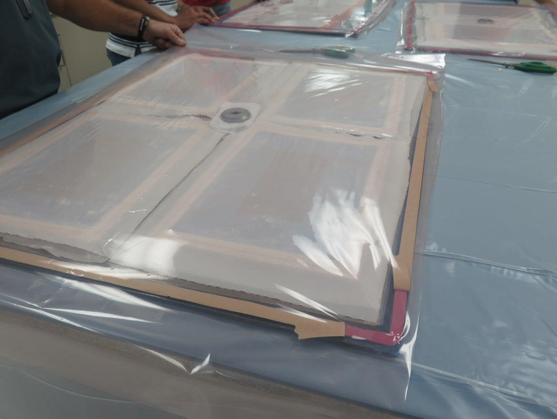 Mold Core Prep - Vacuum Bag 7