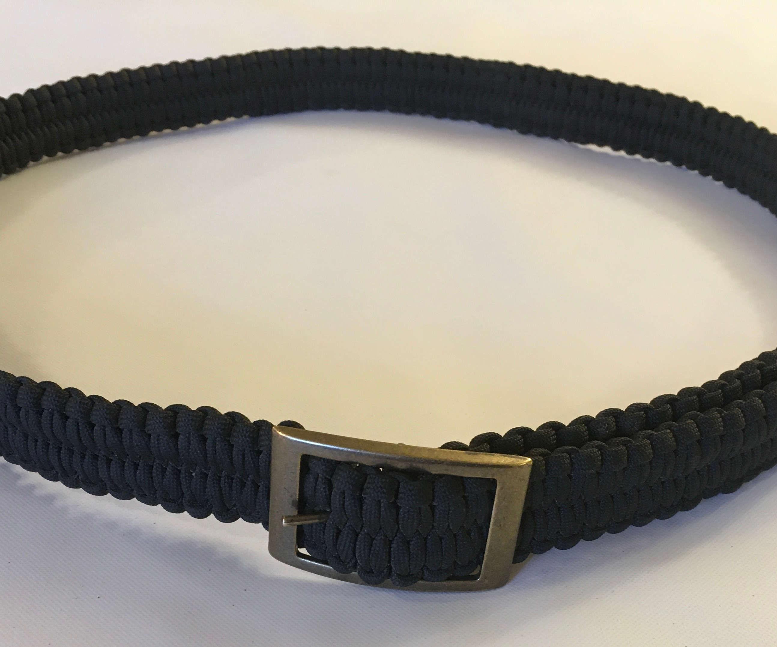Bitterroot Braided Paracord Belt
