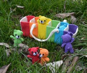 Tiny Rainbow Bears