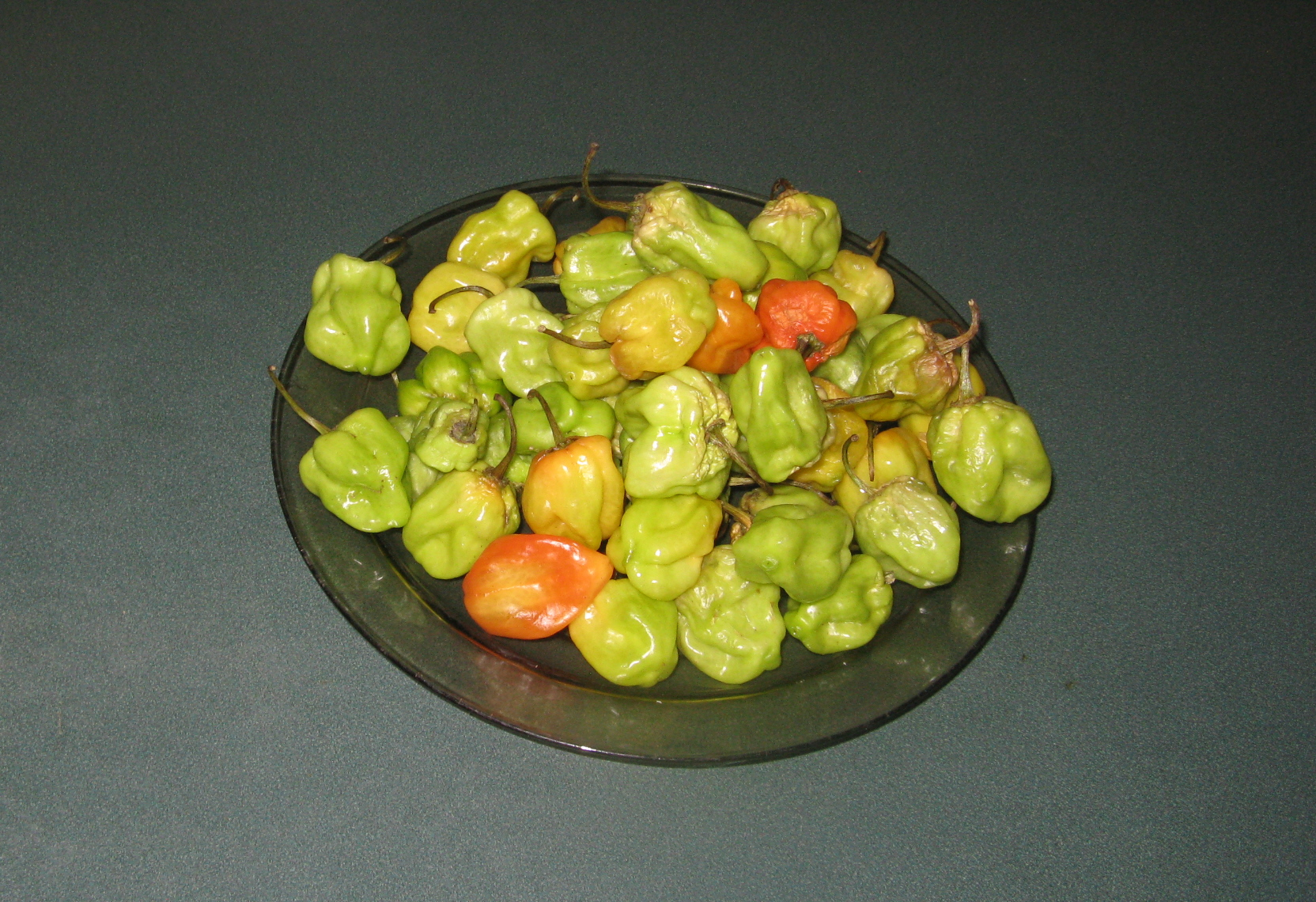 Pickled Scotch Bonnet Peppers