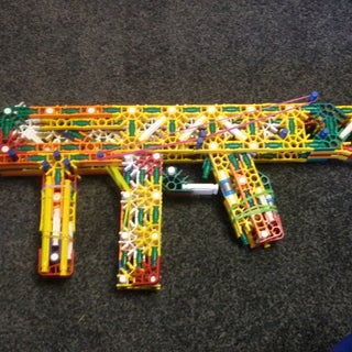 K'nex Machine Pistol: Refuge + Instructions