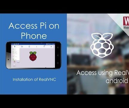 Access Raspberry Pi on Smartphone