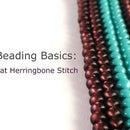 Beading Bascis: Flat Herringbone Stitch