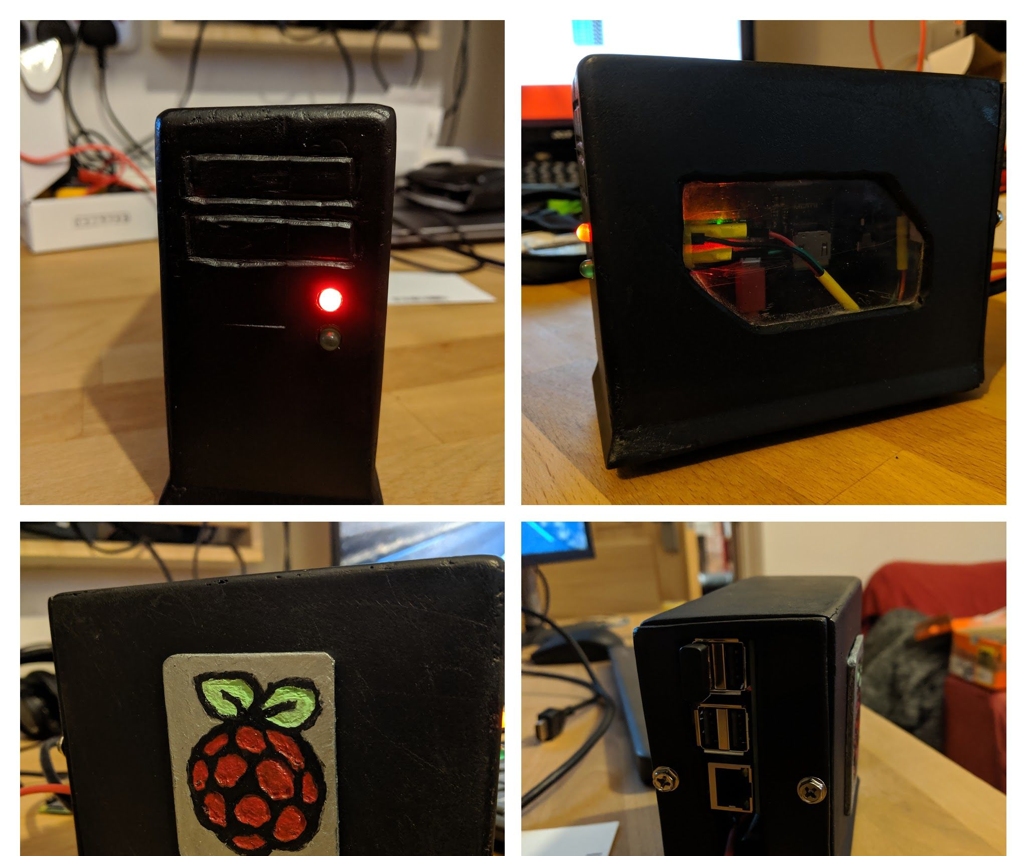 Raspberry Pi ATX Case