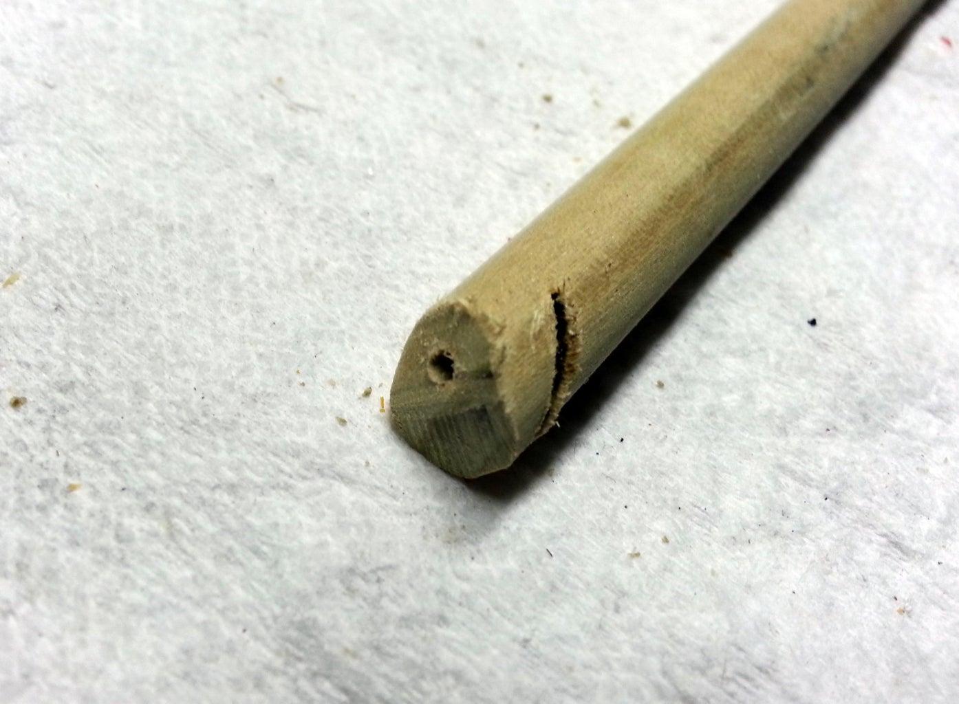 Drill Pilot Hole for Machine Screw