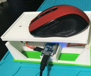 A Nifty 3D Printed Mouse Rocker