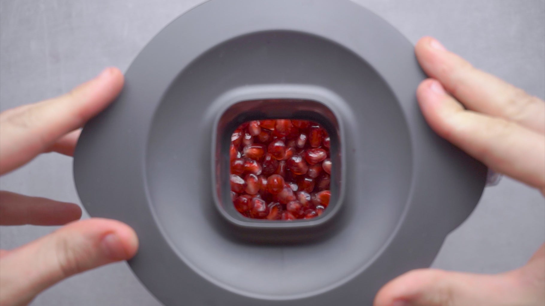Transfer the Pomegranate Seeds to a Blender
