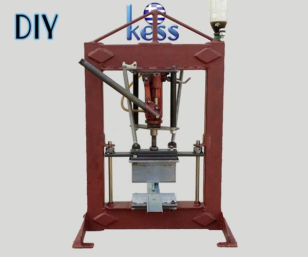 DIY Hydraulic Benchtop Press