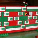 Super Easy Advent Calendar Made Out Of Legos