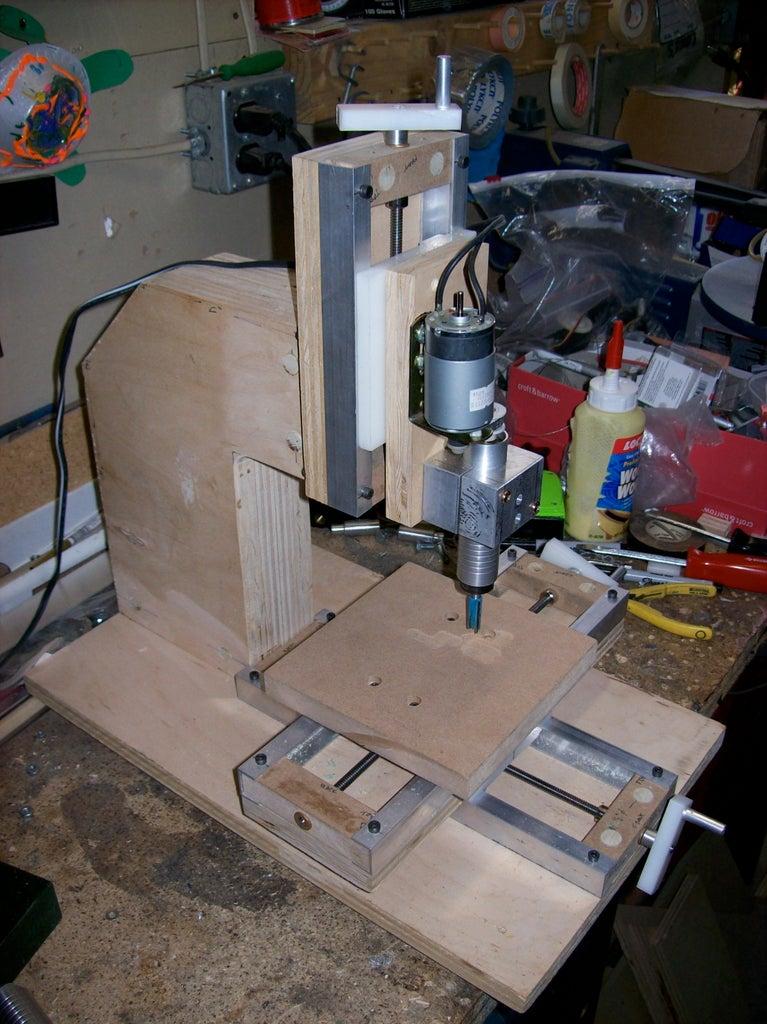 How to Make a Mini Milling Machine- Manual or CNC!