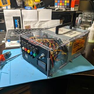 Variable ATX Bench Powersupply - FabLab Edition
