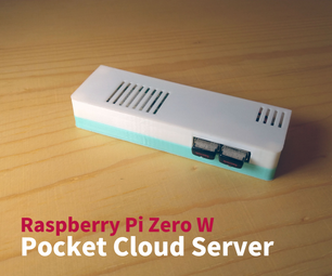Raspberry Pi Pocket Cloud Server